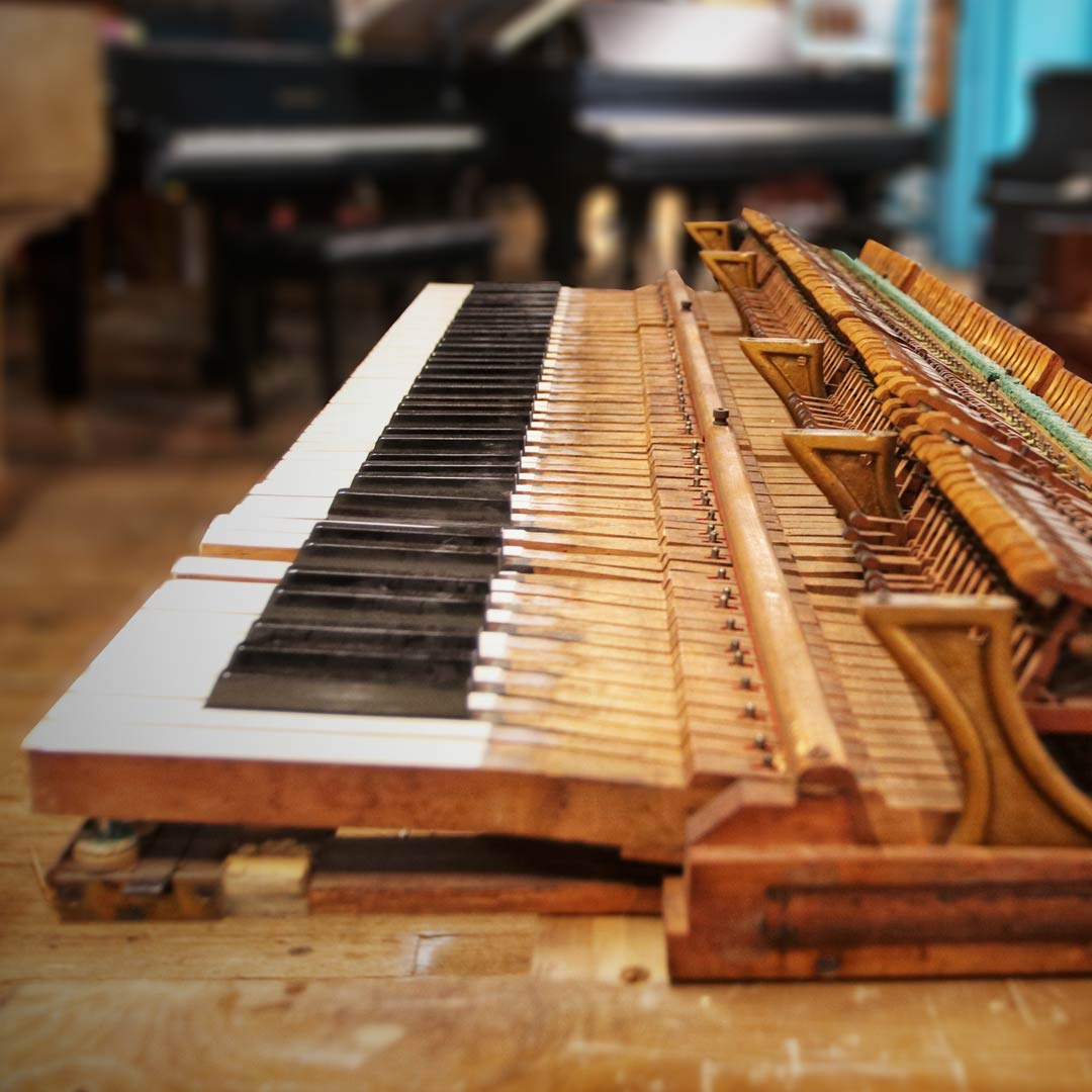 Piano Keys And Action
